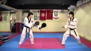 Download 【Taekwondo】Combo Kicks, Turning Kicks, Single Kicks Video