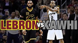 Download Kawhi Leonard & LeBron James Battle in Cleveland | 01.21.17 Video