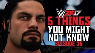 Download WWE 2K17 - 5 Things You Might Not Know! #35 (Roman Reigns OMG Moment, Hulk Hogan Reference & More!) Video