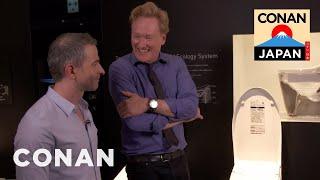 Download Conan & Jordan Visit The Toto Toilet Showroom Video