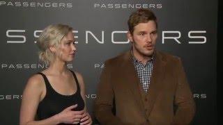 Download Passengers: Jennifer Lawrence & Chris Pratt CinemaCon 2016 Interview Video