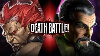 Download Akuma VS Shang Tsung (Street Fighter VS Mortal Kombat)   DEATH BATTLE! Video