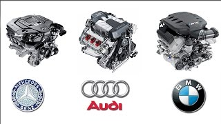 Download Mercedes Benz Audi BMW Engine Technology Video