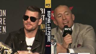 Download Heated! Full UFC 217pre-fight press conference (Bisping v GSP) Video