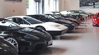 Download 【スーパーカーコレクター】レアなフェラーリ ランボルギーニ他/Supercars collector museum work around! Video