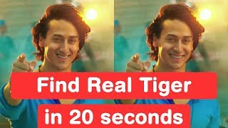 Download Find Real Tiger Shroff in 20 seconds - Baaghi 2 Challenge Video