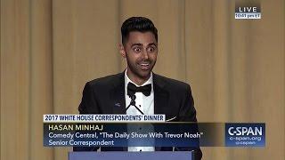 Download Hasan Minhaj COMPLETE REMARKS at 2017 White House Correspondents' Dinner (C-SPAN) Video