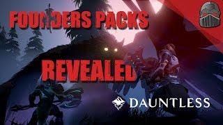 Download DAUNTLESS - Founders Packs Revealed! Video