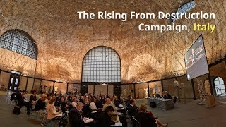 Download The Rising from Destruction Campaign, coordinated in Rome, ITALY Video