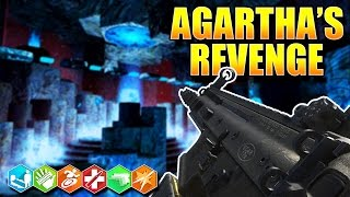 Download NEW CRAZY PLACE ZOMBIES WITH STAFFS!! ″AGARTHA'S REVENGE″ (BO3 Custom Zombies) Video