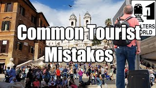 Download 5 Tourist MISTAKES All 1st Time Tourists Make Video