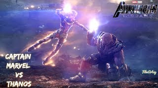 Download Avengers: Endgame | Captain Marvel & Iron Man Fight Thanos Scene | Must Watch Video
