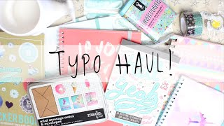 Download Typo Stationery & Craft Haul! April 2016 | MyGreenCow Video