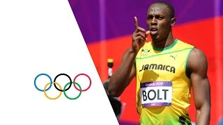 Download Usain Bolt & Yohan Blake Win 100m Heats - London 2012 Olympics Video