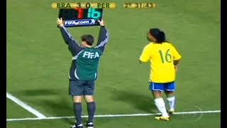 Download The Day Ronaldinho Substituted & Changed The Game Video