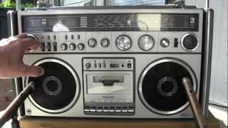 Download Panasonic RX-7700 FM MW SW 5-Band Stereo Radio Cassette Recorder Video