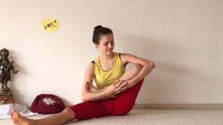 Download Developing Lotus Flexibility - Preparing Yoga Padmasana Sitting Position Video