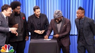 Download David Blaine Shocks Jimmy and The Roots with Magic Tricks Video