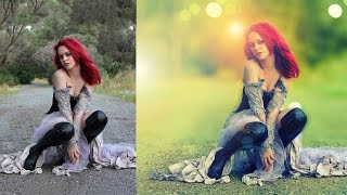 Download soft light retouch photo edit | photoshop tutorial cs6/cc Video