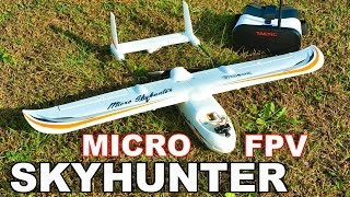 Download Eachine Micro SkyHunter Fixed Wing FPV Under $100! Review - TheRcSaylors Video