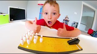 Download FATHER SON PLAY MINI BOWLING! / Only $5!! Video