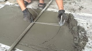 Download Creative Sand And Cement Working - How To Build A Concrete Door Correctly Video