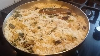 Download Bagara Rice, mild spicy and aromatic rice preparation Video