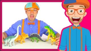 Download Dinosaurs for Kids with Blippi   Dinosaur Song and Toys Video