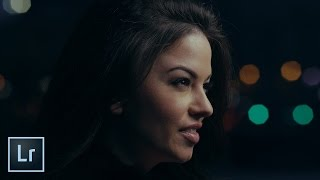 Download How to Color Grade a Cinematic Portrait in Lightroom Video