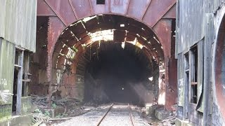 Download The 157 year old Mahanoy Railroad Tunnel Video