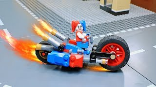 Download Lego Harley Quinn Builder: Gotham City Cycle Chase Building Video