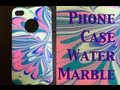 Download DIY: Water Marble Iphone Case ♡ Theeasydiy #PhoneCaseArt Video