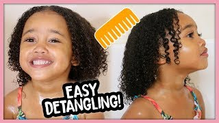 Download Kids Curly Hair Wash Day Routine for Easy Detangling! Video