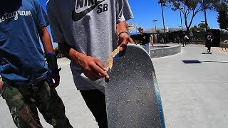 Download WORST BOARD AT THE PARK | SURPRISE WIN! Video