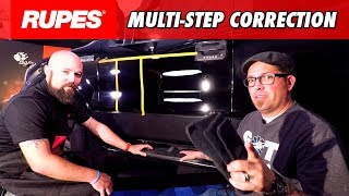 Download RUPES Paint Correction on THRASHED Black Paint | DETAILS WITH LEVI Video
