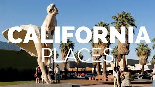 Download 10 Best Places to Visit in California - Travel Video Video