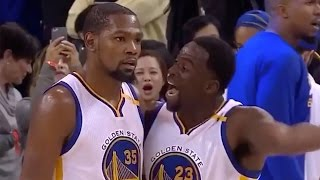 Download Draymond Green KICKS Steph Curry and Kevin Durant (Verbally) After Warriors Blow 24-Point Lead Video