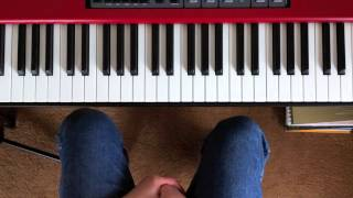 Download Playing blues piano in E, A and D Video