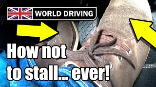Download How to NEVER stall a manual car again - Clutch control tips Video