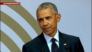 Download Former U.S. President Obama delivers the 16th Nelson Mandela annual lecture Video