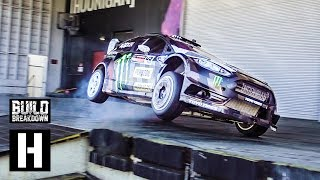 Download Ken Block Slays the Donut Garage in his 650HP Fiesta #Yardkhana Video