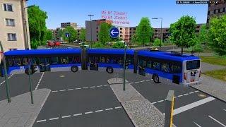 Download [OMSI 2] Quadbus Brt Biarticulado Linha M5 Mapa: Winesburg 2015 + G27 #OMSI2 #OMSI Video