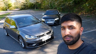 Download Comparing the 2018 VW Golf R Facelift to the 2017 Audi S3! (Exhaust Sound/Quick Drive) Video