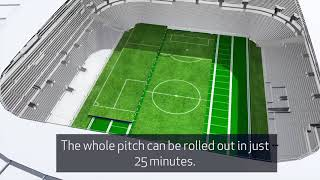 Download New Spurs Stadium: Retractable Pitch - Official Video Video