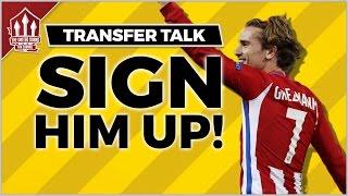 Download MANCHESTER UNITED Begin Antoine GRIEZMANN TALKS | MUFC NEWS Video