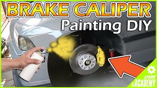 Download HOW TO PAINT BRAKE CALIPERS... THE EASIEST WAY! Video