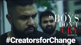 Download SHORT FILM- BOYS DON'T CRY- #creatorsforchange Video