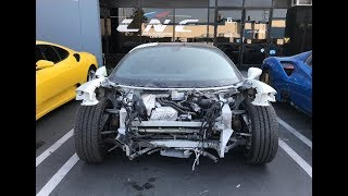 Download REBUILDING A WRECKED FERRARI 458 FROM COPART Video
