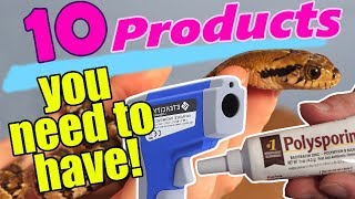 Download 10 Products Every Snake Owner Should Have! Video