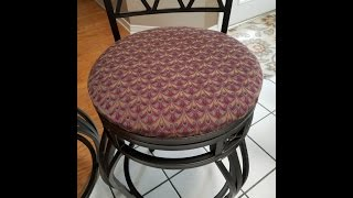 Download Re-cover your Bar Stools and Chairs The Easy Way! Video